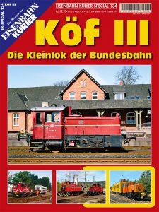 EK-Spezial 134 - Köf III (Coveraufnahme EK-Verlag)